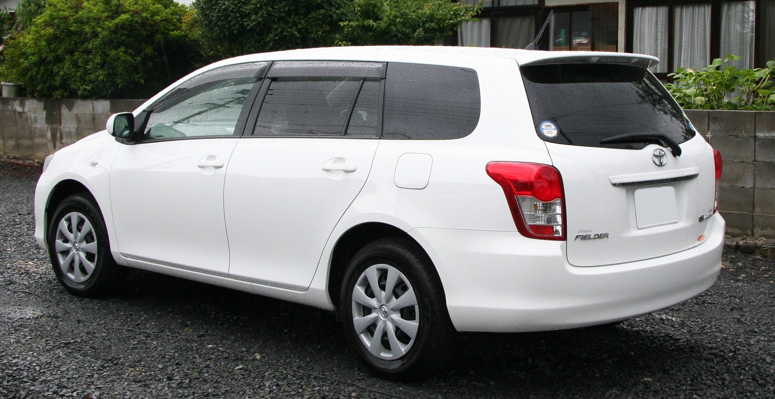 Модель Filder технически является моделью Corolla в кузове универсал