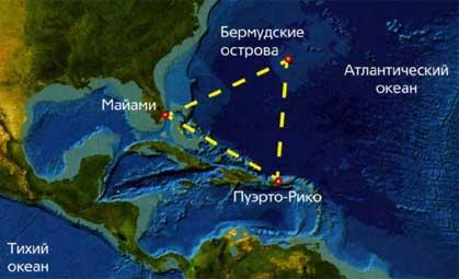 Аномалия в Атлантическом океане