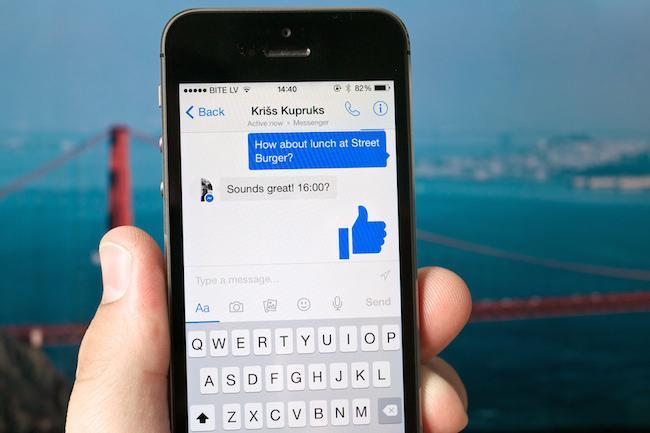 Messenger заменит стандартные приватные сообщения в Facebook