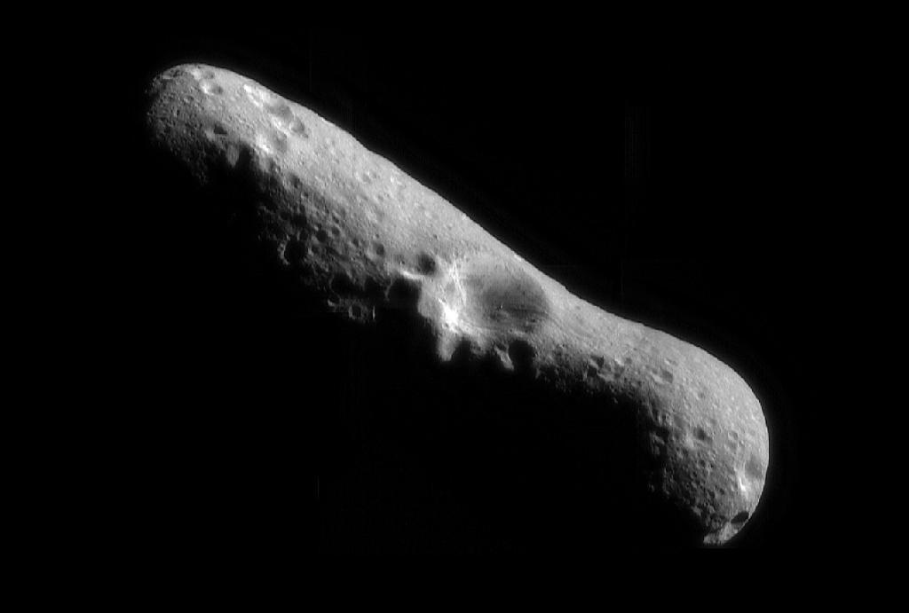 Так выглядит астероид Эрос