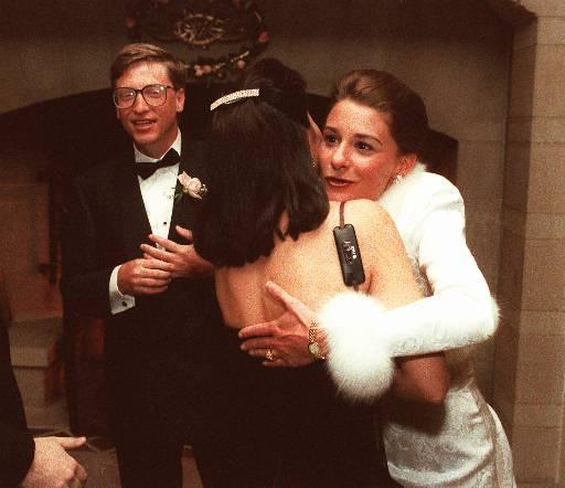 Свадьба Билла и Мелинды. 1994 год