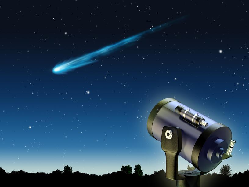 Хвост кометы принесет на Землю метеоритный дождь