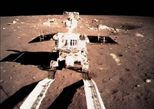 Луноход спускается на Луну