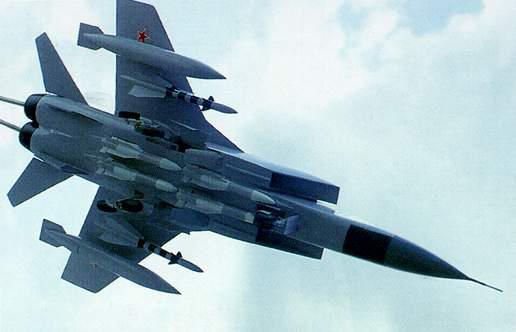 Миг-31 не страшны ни дождь, ни слякоть