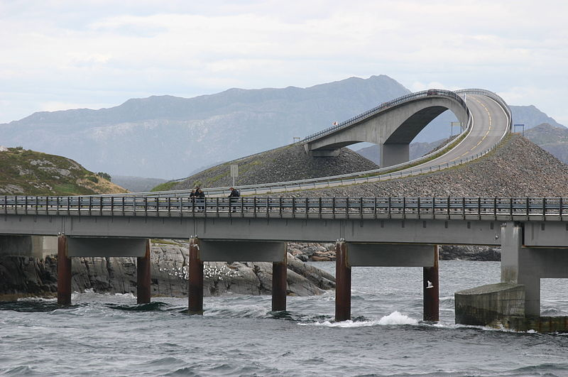 Atlantic Ocean Road в Норвегии