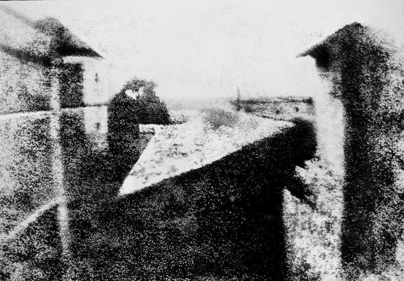 Вид из окна — первая сохранившаяся фотография