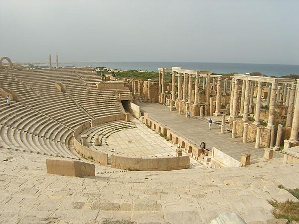 Театр Сабраты не был разрушен
