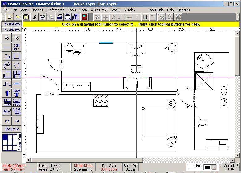 Программа для дизайна интерьера Home Plan Pro