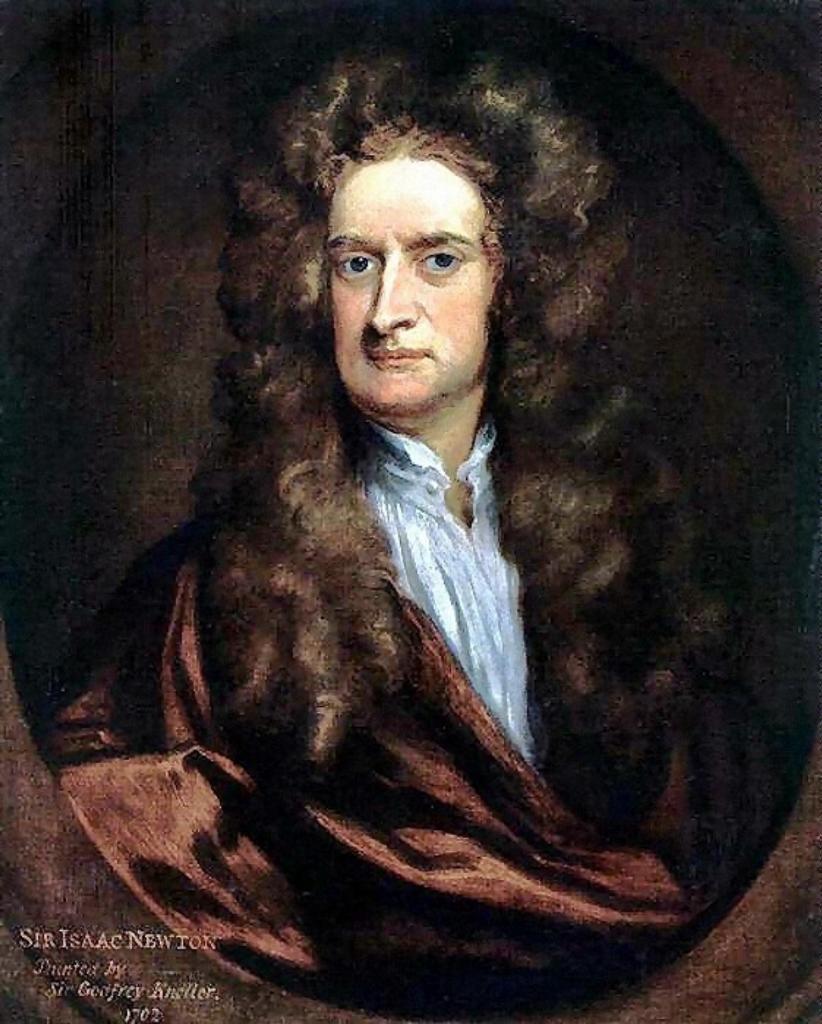 Исаак Ньютон много времени угробил на комету прежде, чем убедился в достоверности законов Кеплера