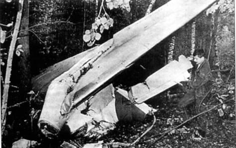 В 1985 году над Золочевом во Львовской области столкнулись Ту-134 с пассажирами на борту и военный Ан-26
