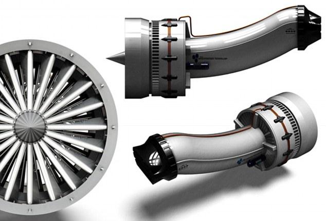 Водородная турбина