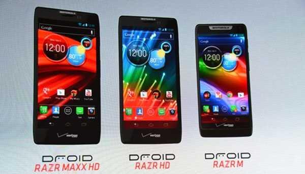 Три телефона от Motorola