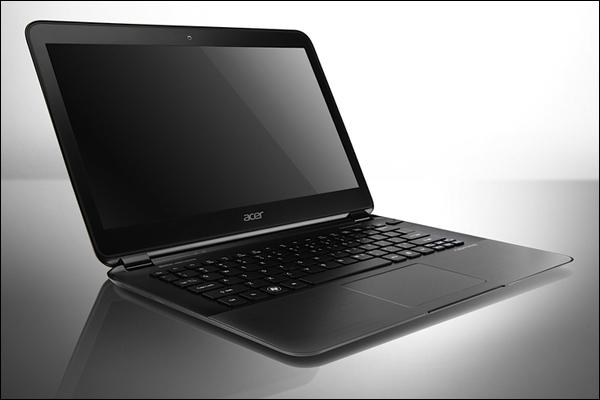 Тонкий ультрабук от Acer