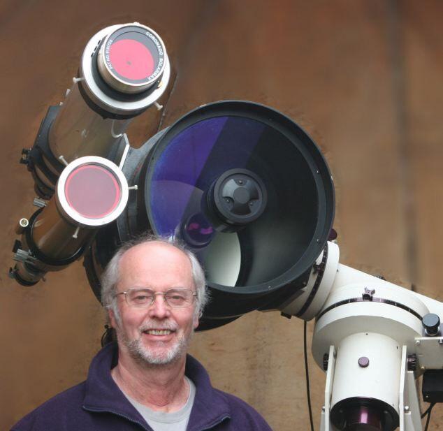 Астроном-любитель Дейв Тайлер