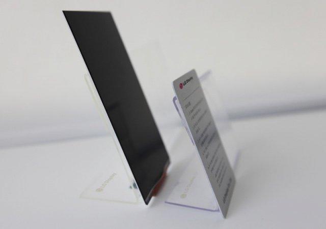 Поговаривают, что LG Optimus G2 будет первым смартфоном с таким дисплеем