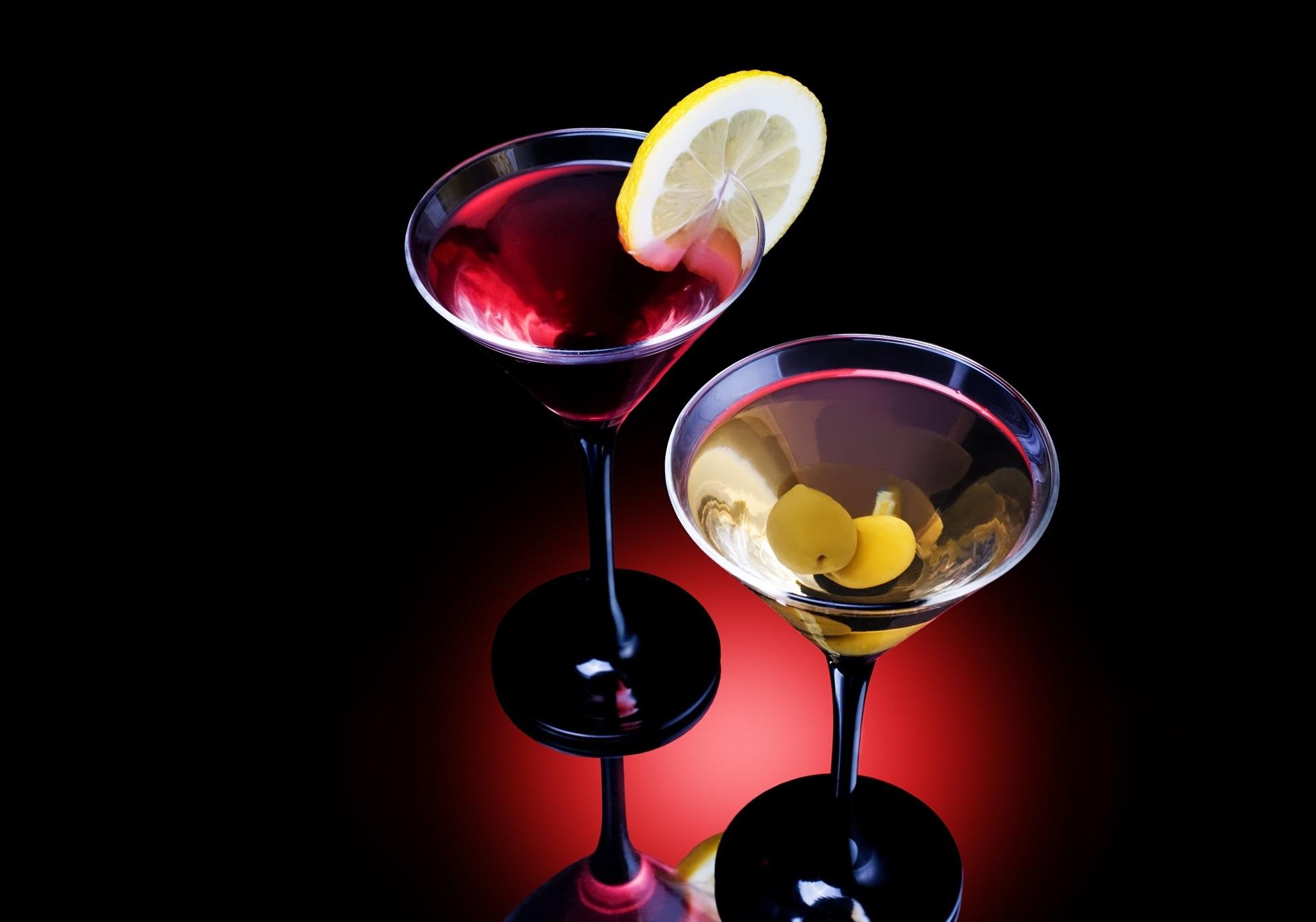 Барышни любят мужчин с мартини