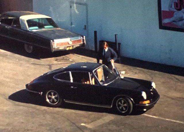 Porsche S 1969 года Шэрон Тейт (Марго Робби)