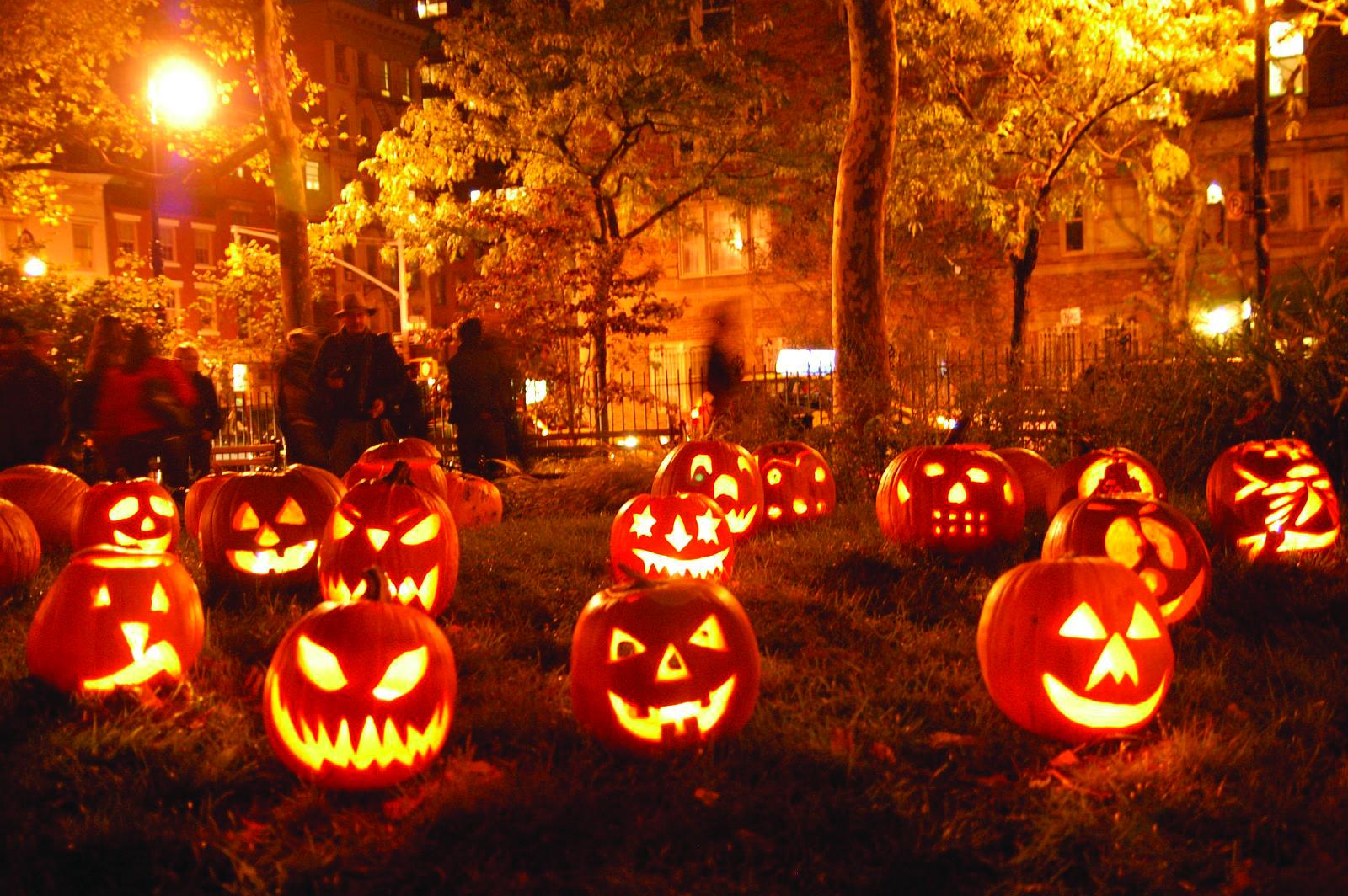 Хэллоуин - официальный спонсор тыквенных семечек