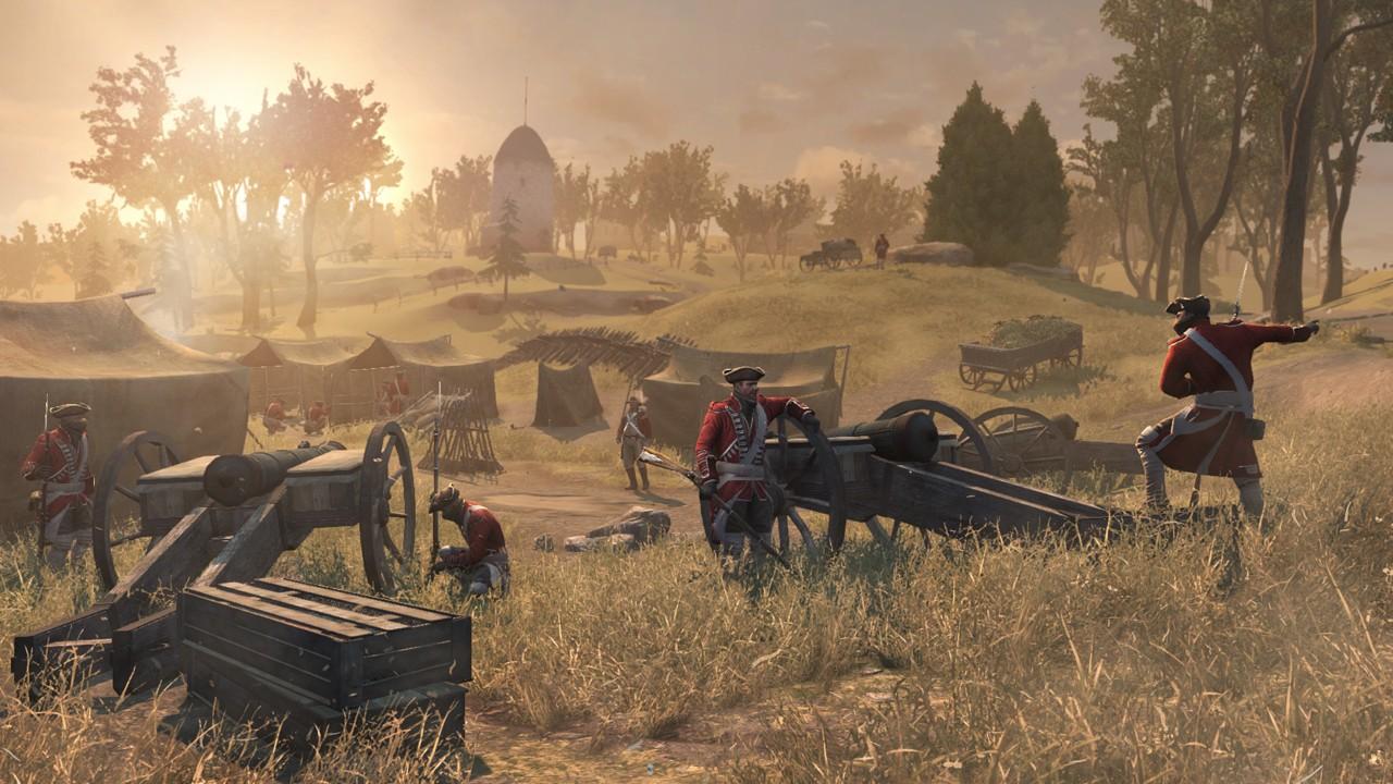 Assassin's Creed 3 скрывает детально проработанный мир