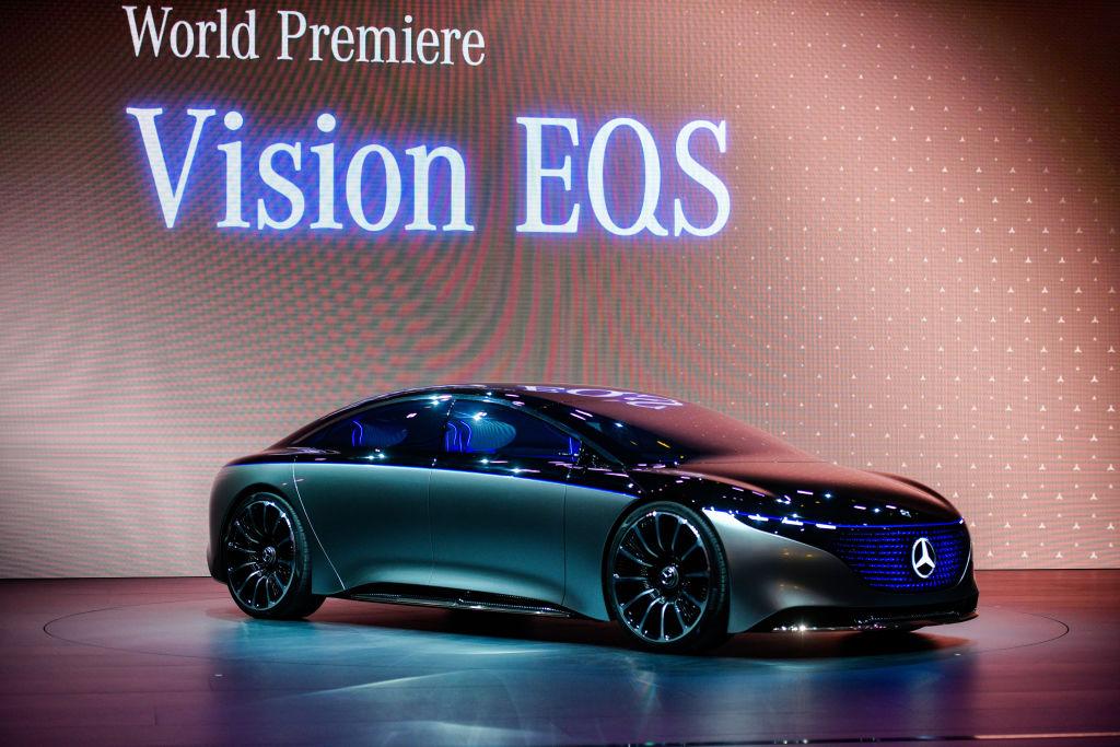 Концепт Mercedes Vision EQS