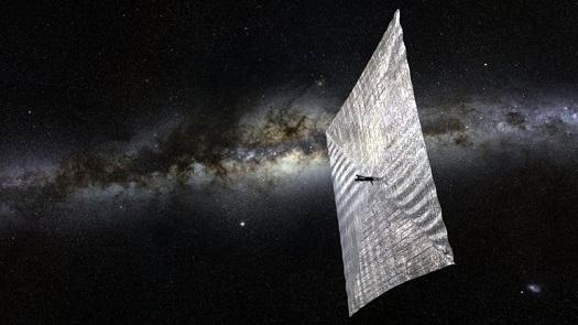 Спутник будет передвигаться при помощи солнечного паруса