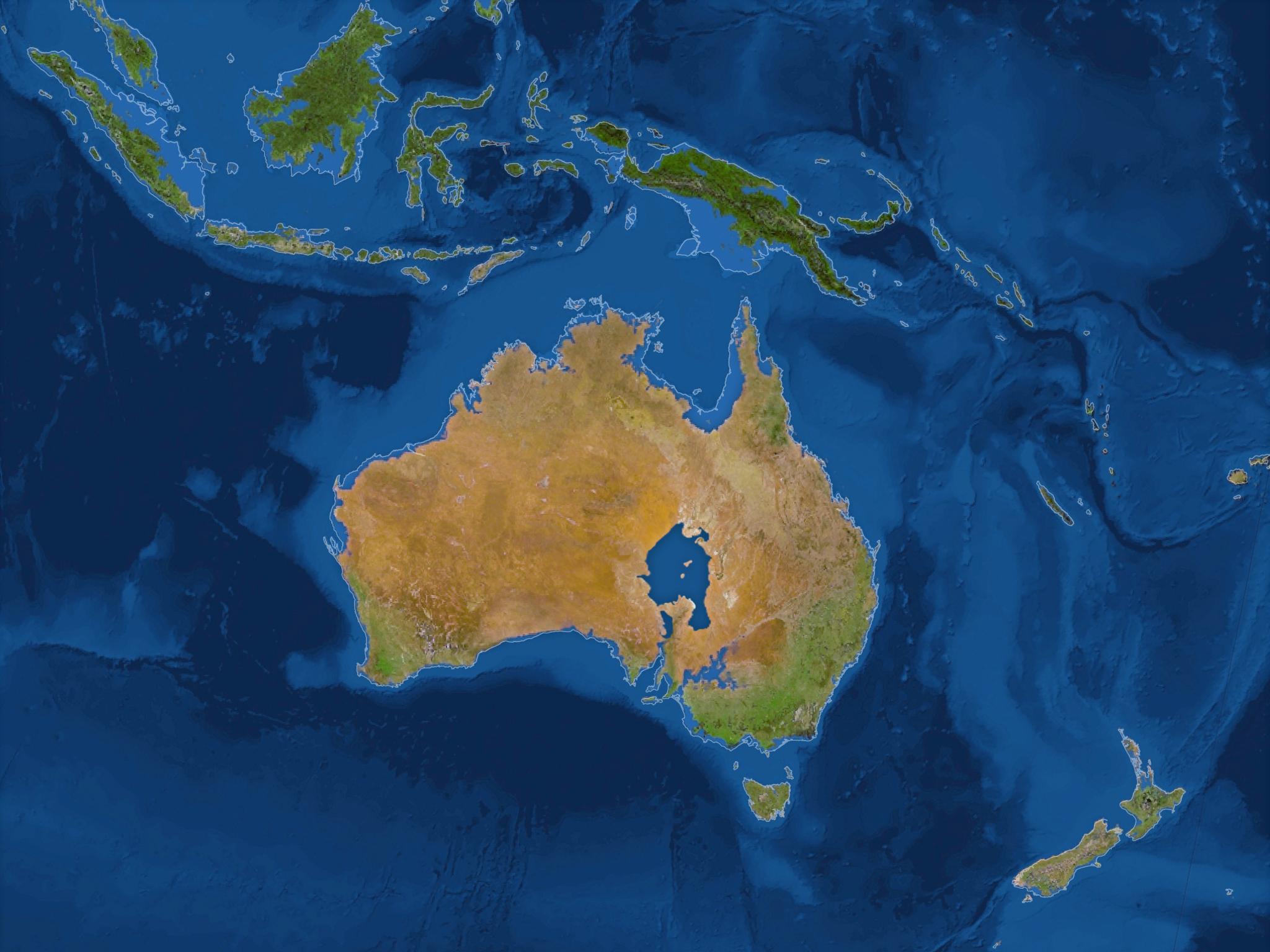 В центре Австралии возникнет соленое озеро