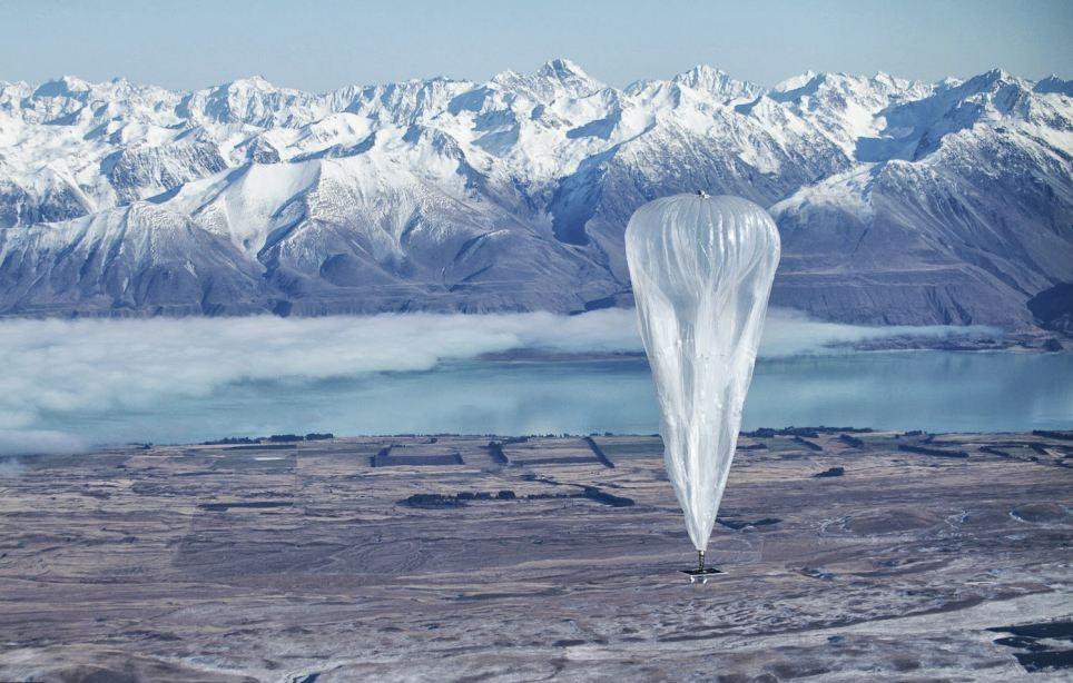 Воздушные шары будут летать над Землей и раздавать интернет