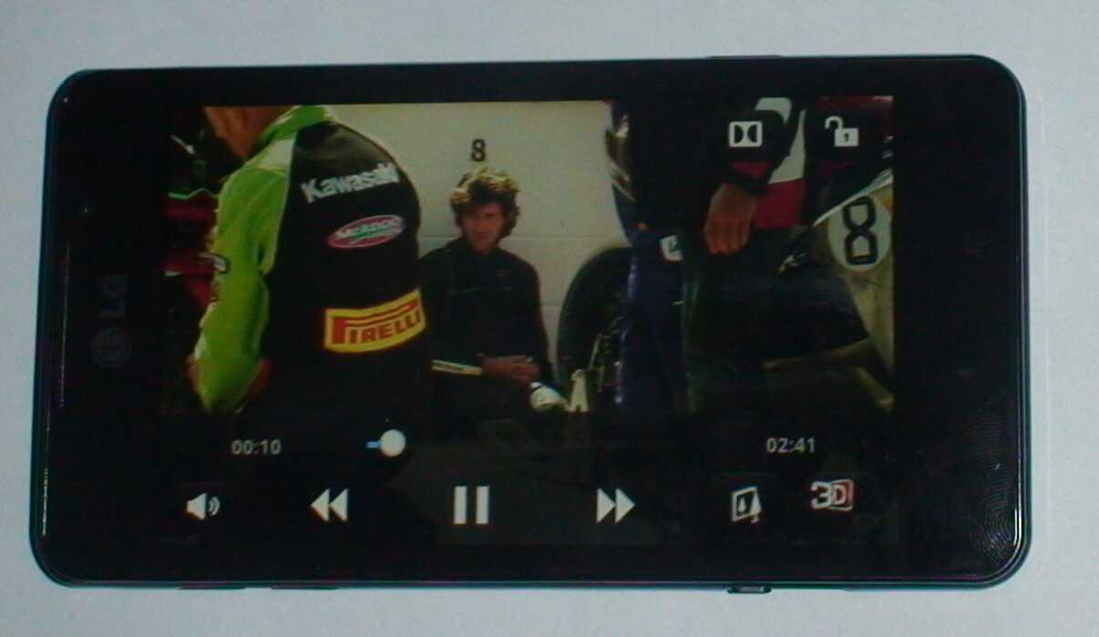 Видео можно конвертировать в 3D налету