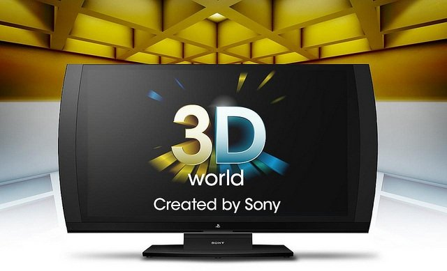 3D-дисплей для Sony PlayStation