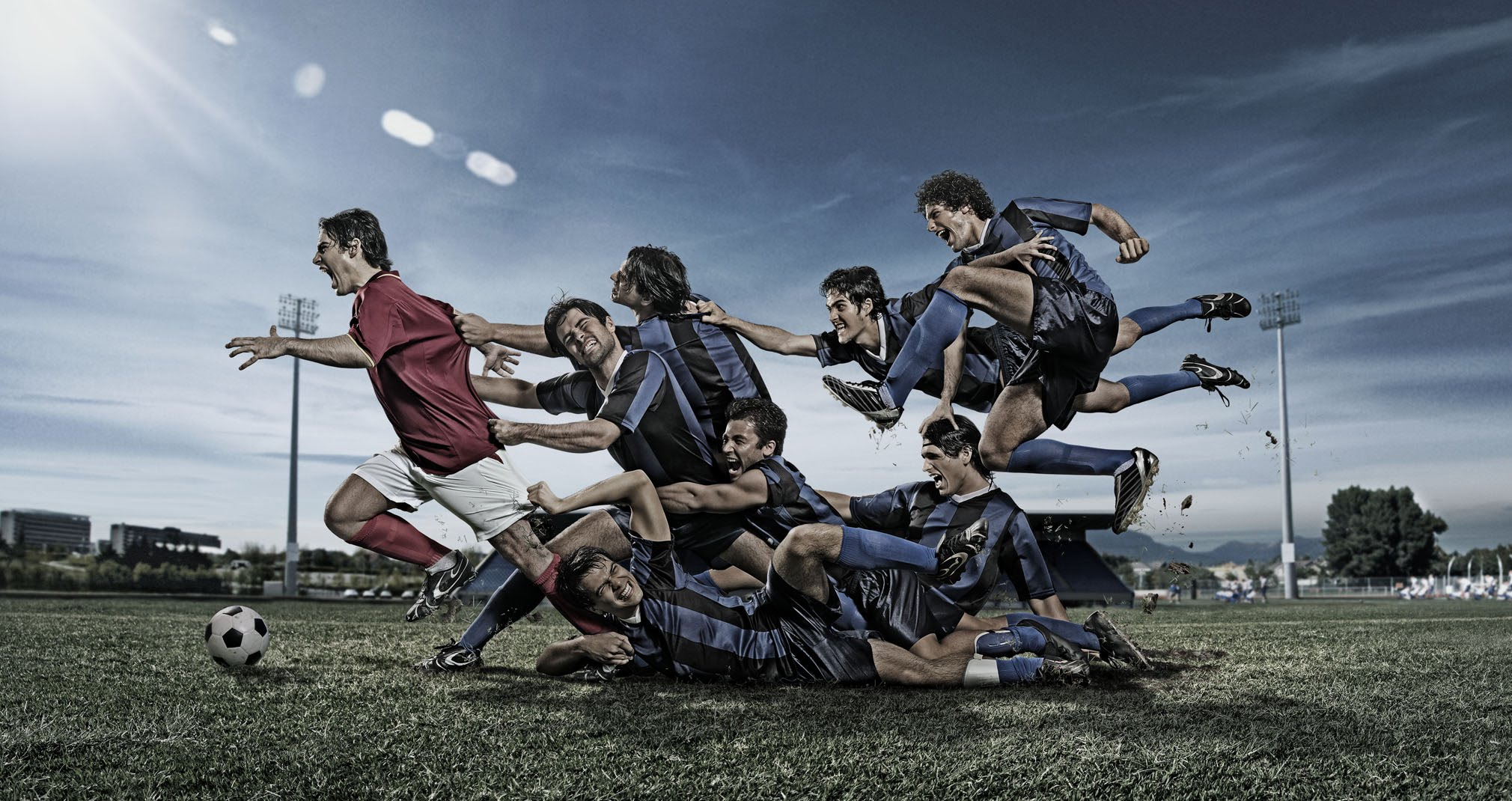 Футбол — прекрасная встряска для мужского организма, давления и сердца