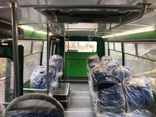 Перед переоборудованием автобус прошел полный капитальный ремонт на Луцком заводе электротранспорта