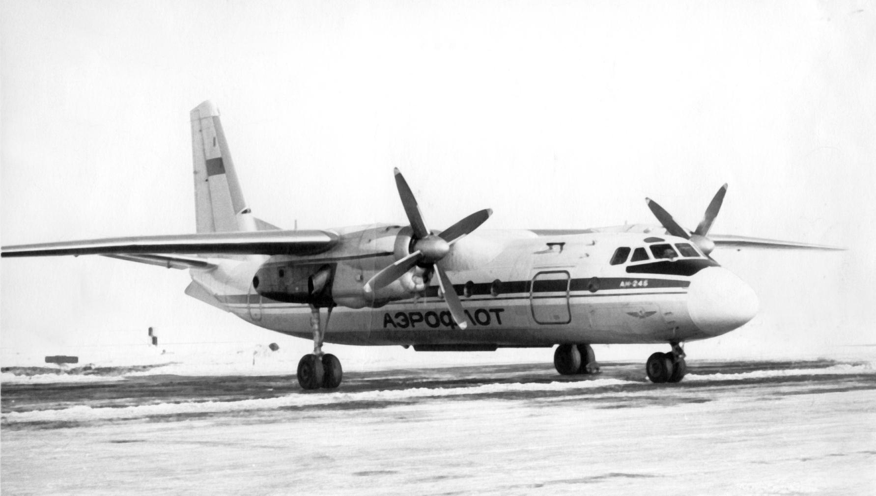 Ан-24 разбился под Черниговом