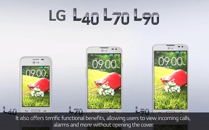 Три новых телефона от LG