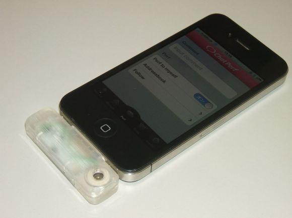 Пока устройство работает лишь с iPhone