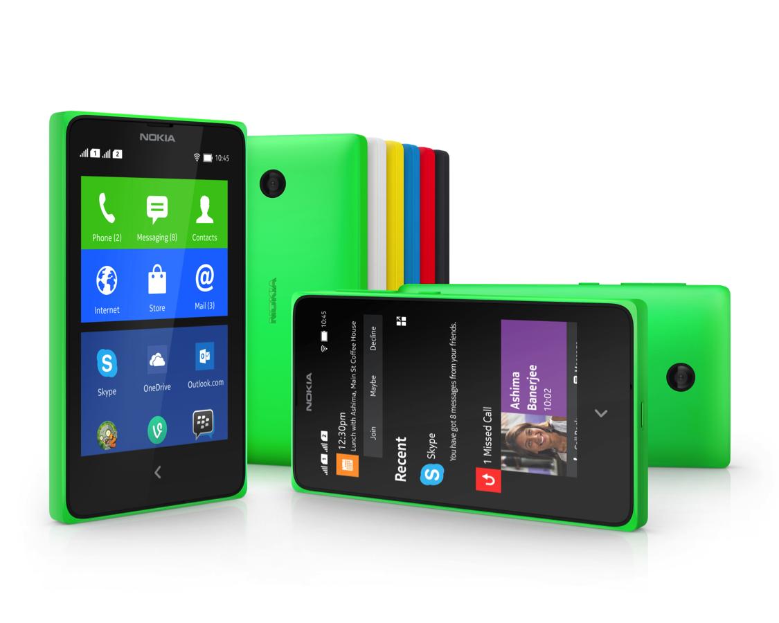 Nokia X - телефон на любой вкус и цвет