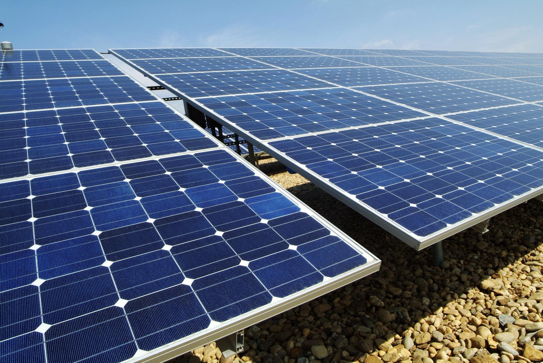 conceptual framework pf solar panel using heat