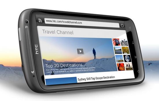 Неизменной популярностью пользуется и HTC Sensation. Он занимает третье место второй месяц подряд.