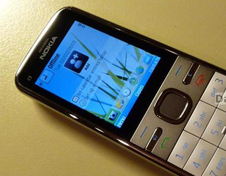 Седьмую позицию отвоевала Nokia C5. Месяц назад этот телефон был лишь на девятом месте.