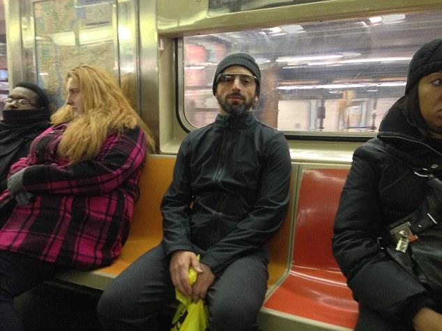 Сергея Брина «застукали» в метро