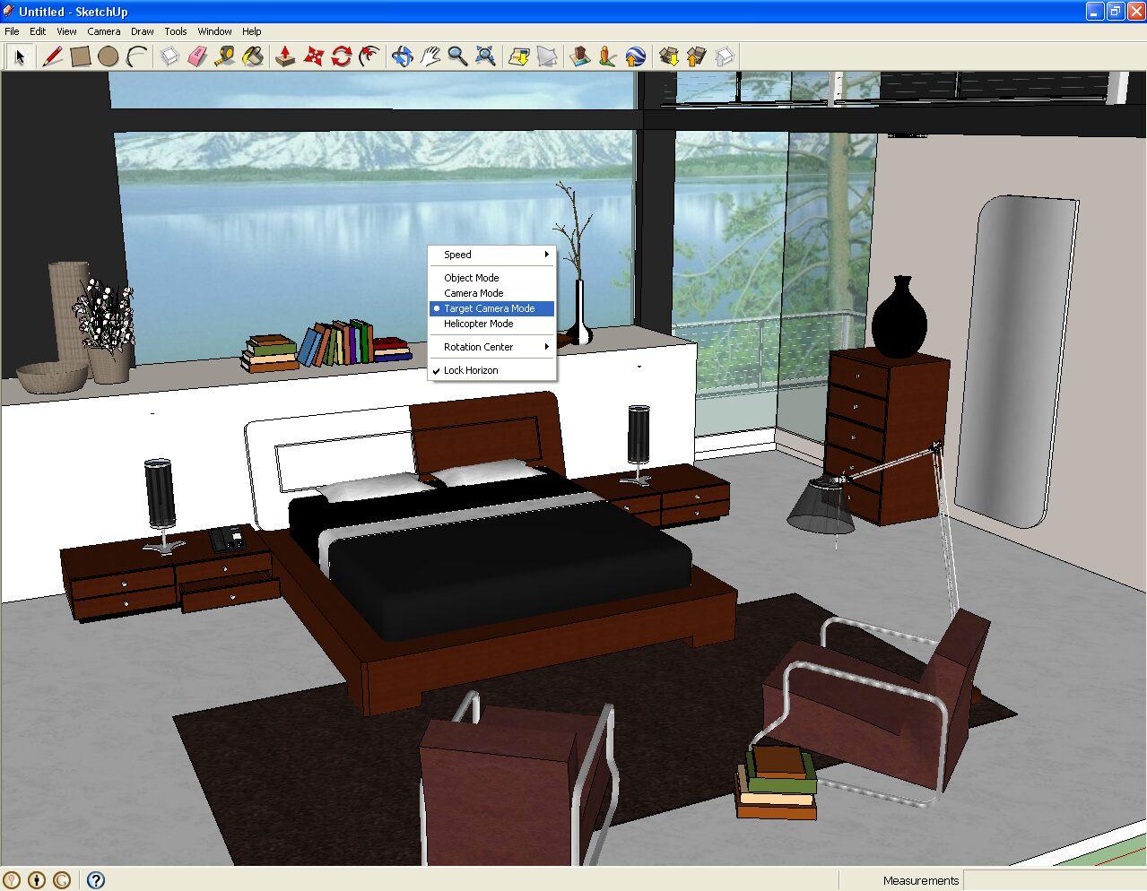Программа для дизайна интерьера Google Sketchup
