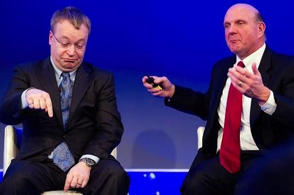 Стивен Элоп и Стив Балмер объявили о покупке Nokia