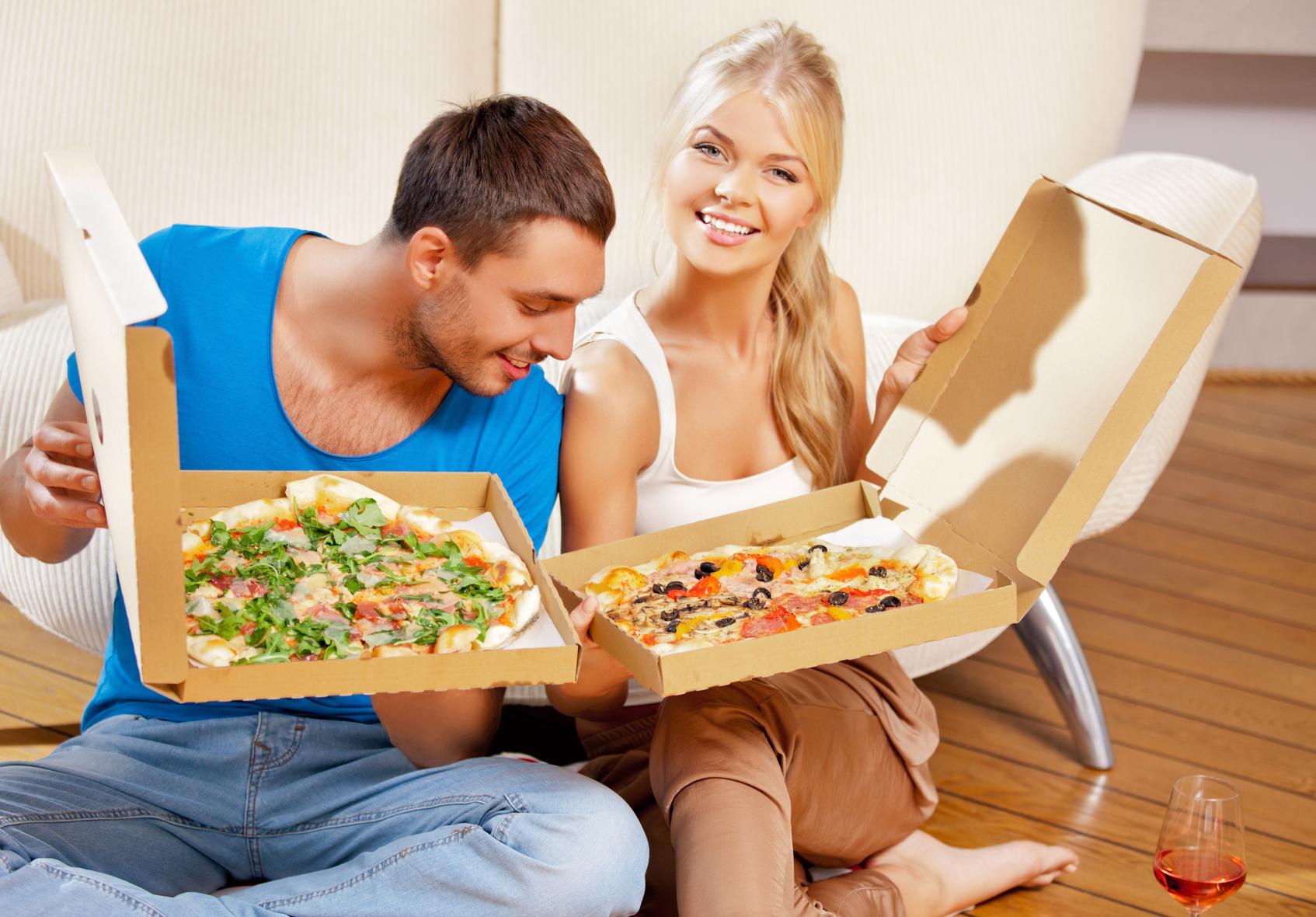 Пицца без мяса - это еще не означает, что она без калорий