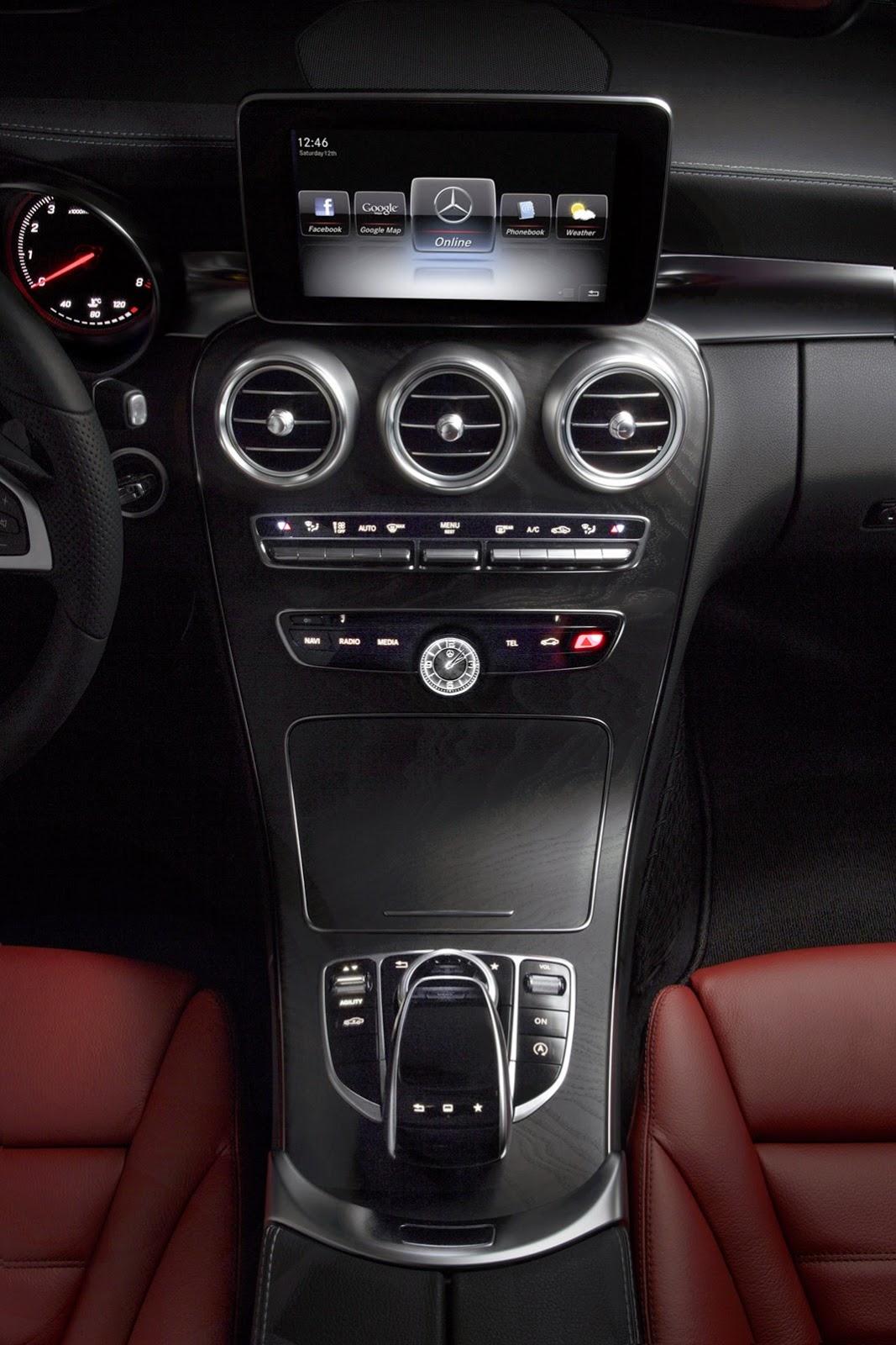 2015 Mercedes-Benz C-Class. Официальное фото