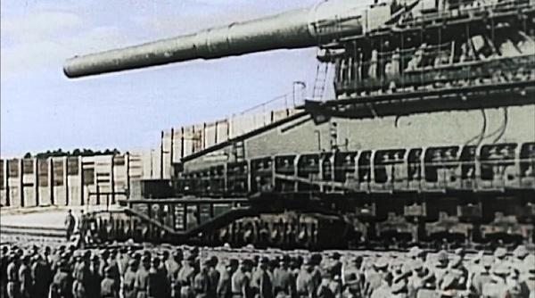 Одна пушка Лендкрузера весила 800 тонн