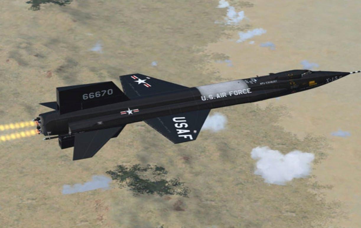 Сесть за штурвал X-15 решались только те, кому нечего было терять