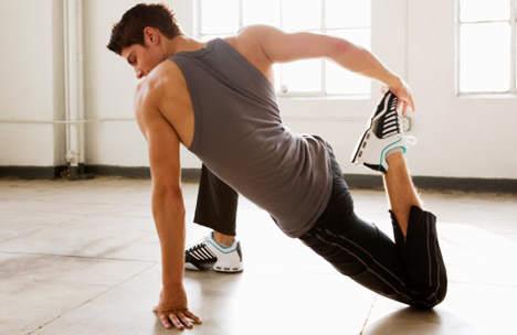 Перед тренировкой всегда разминай мышцы