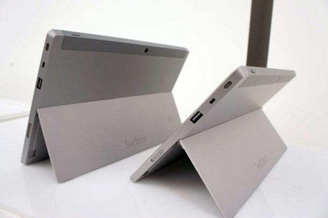 Всего будут продаваться две версии — Surface и Surface Pro