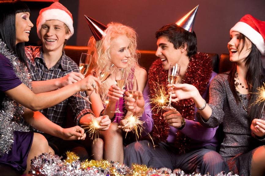 Новый год - отличный повод пить полезное спиртное