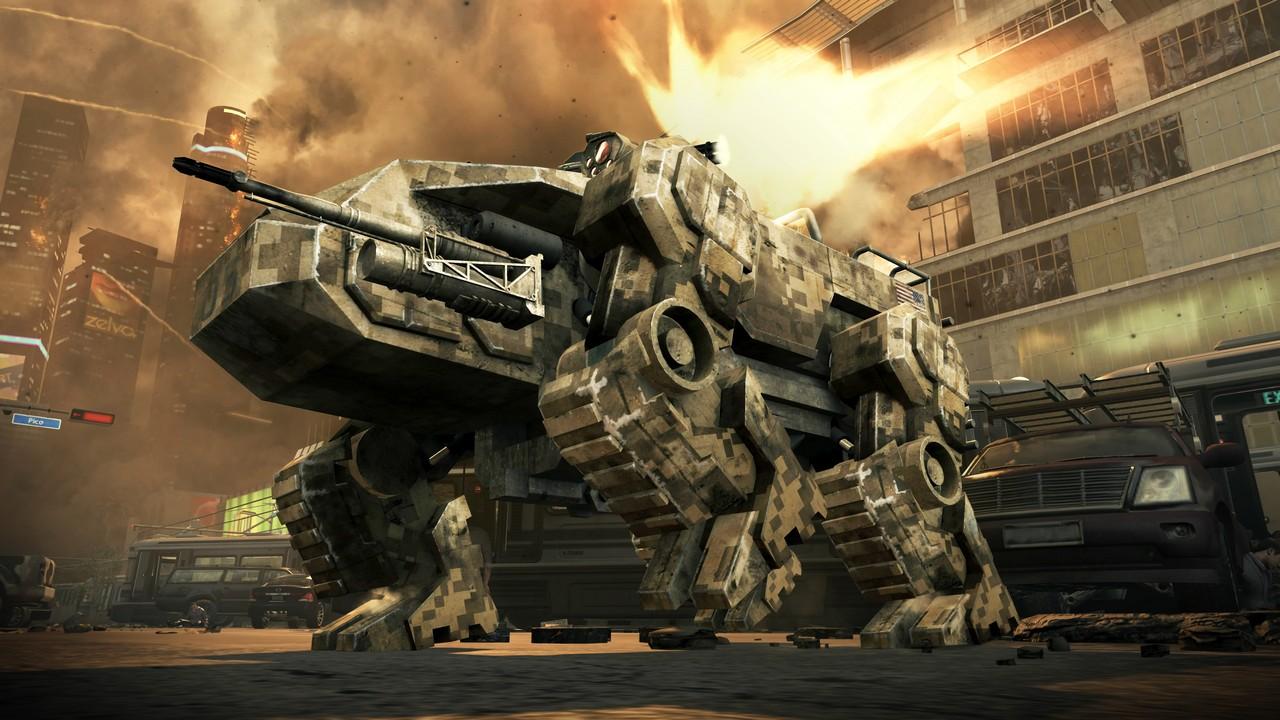 Call of Duty: Black Ops 2. Шагающие роботы, голливудские сценаристы и бодрое рубилово.