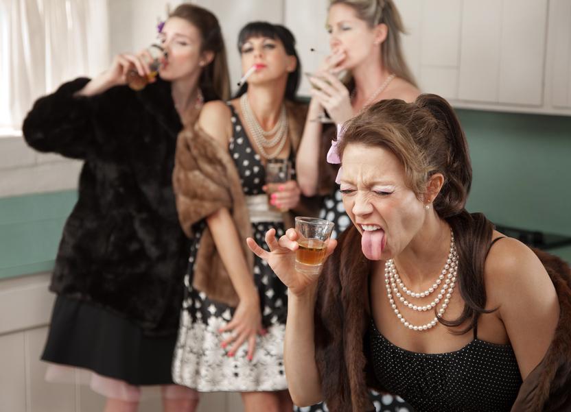 Иногда лучше отдать женщине, чем пить самому